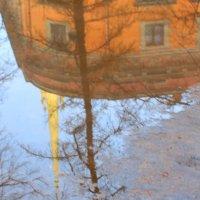 Михайловский замок. Отражение :: Александра