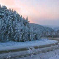 мороз,закат.. :: зоя полянская