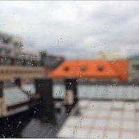 Кап-кап-кап-кап. Каплет дождик. :: Михаил Лесин