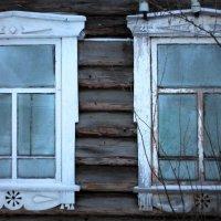 окна старого дома. :: Татьяна Тимохина