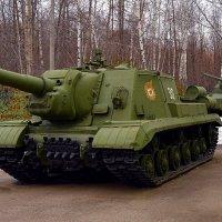 Самоходная артиллерийская установка ИСУ-152 :: Владимир Болдырев