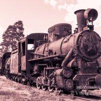Старый паровоз :: Виктория Гаман