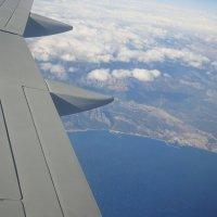 под крылом самолёта :: youry