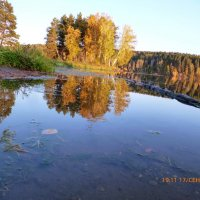 Осень на озере :: оксана