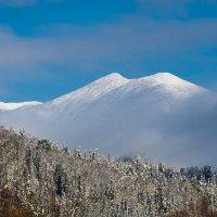 Горы в облаках. :: Александр Потапов