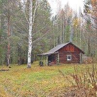 Охотничий домик. :: Андрей Синицын