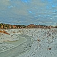 река Мера :: Михаил Жуковский