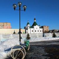 Городской пейзаж :: Татьяна Нижаде