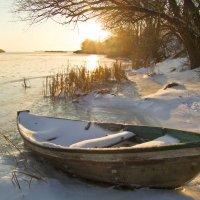 Зимний Днепр :: Тамара Румянцева