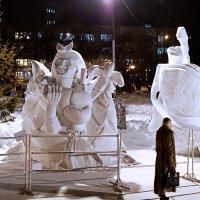 Снежный городок :: Sergey Kuznetcov