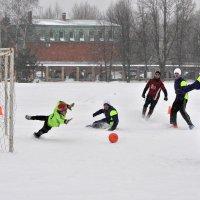 Зимний футбол :: Андрей Куприянов