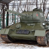 Легендарный Т-34 :: Oleg4618 Шутченко