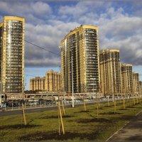 Осенние мотивы в современном градостроении :: Сергей Андриянов