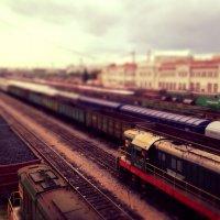 Железнодорожная станция :: Владимир К.