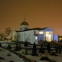 Знаменский женский монастырь в крещенскую ночь :: Константин Кузнецов