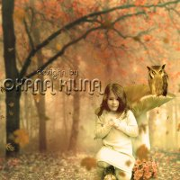 "Детский коллаж ""Фантазия"", тёплые тона. Специально для тех, кто не любит холод)))) :: Oxana Kilina"