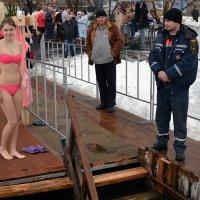 Крещение в Шахтах :: Владимир Болдырев