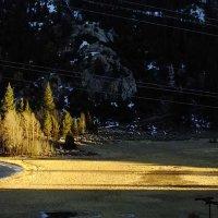 островок света на закате :: viton