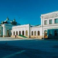 Вокзал Сызрани. :: Андрей Лобанов