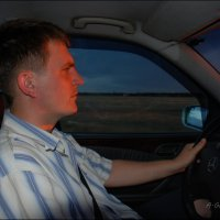 Крепче за баранку держись, шофер! :: Anna Gornostayeva