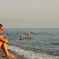 Девушка на море :: Максим Миронов