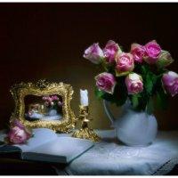 И только аромат цветущих роз... :: Валентина Колова