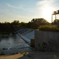 Плотина через р. Нара :: Оксана Провоторова
