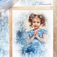 Девочка за окном в новогоднюю ночь :: Татьяна Семёнова