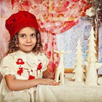 Сказка красная шапочка :: Татьяна Семёнова