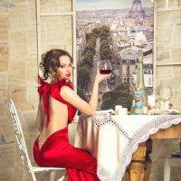 леди в красном :: Irina SapFira