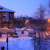 Уличное, вечернее, морозное.... :: Cветёлка ***