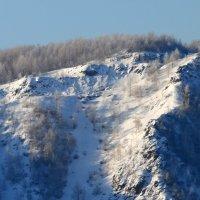 Крест на горе. Зима. :: Сергей Щелкунов