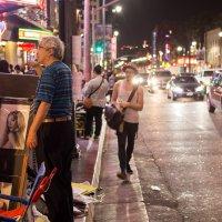 Голливудский бульвар. Ночь :: Mikhail Bukreev