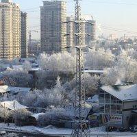 Мороз в городе :: Игорь Ястребов