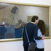 Поцелуй на фоне Иды :: ЕЛЕНА СОКОЛЬНИКОВА