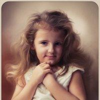 Мамин ангел (Ксюша) :: Анастасия Аникеева