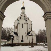 Церковь в память жертвам Чернобыля :: валерий попов