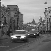 москва. покровка. середина января :: Андрей Денисов