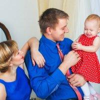 Ольга, Николай и Кира :: Ангелина Косова