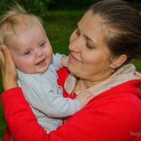 Мама всегда успокоит. :: Сергей и Ирина Хомич