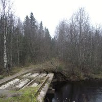 Старый мост. :: ПК