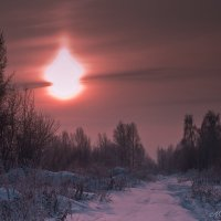 Крещенские морозы :: Мария Парамонова