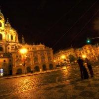 Прага...Ночь... :: АндрЭо ПапандрЭо
