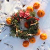 Новогодний венок :: Риша Сафиулина
