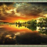 Краски заходящего солнца :: Лидия (naum.lidiya)