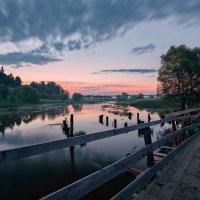 Спешили облака к рассвету... :: Roman Lunin
