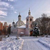 Церковь Живлначальной Троицы в Хорошово :: mila
