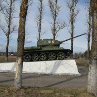 Танк-памятник Т-34-85. :: ТАТЬЯНА (tatik)