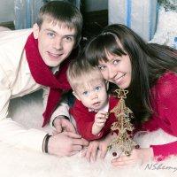 счастливая семья.. :: Надежда Шемякина