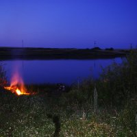 Ночная рыбалка :: Юрий Рачек